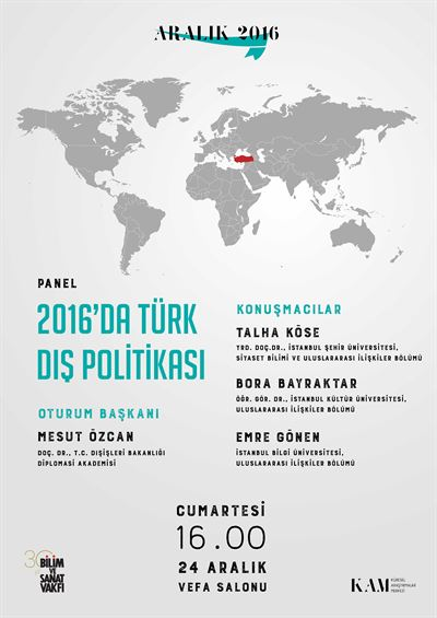 Turkish Foreign Policy in 2016