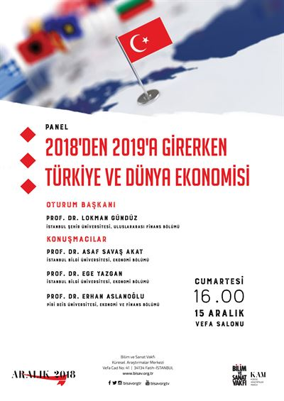 Ahead from 2018 to 2019 Turkey and World Economy