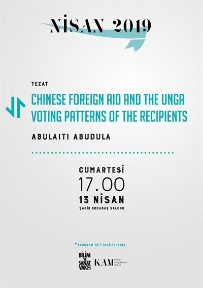 Chinese Foreign Aid and The Unga Voting Patterns of the Recipients