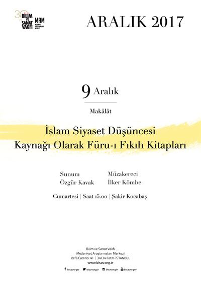 Furu-ı Fıqh Books as a Source of Islamic Political Thought