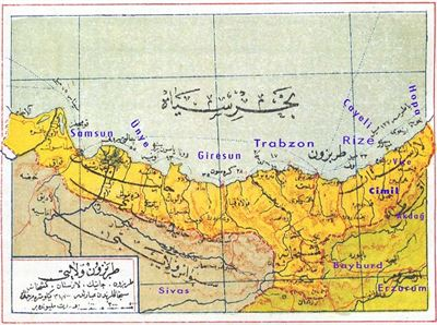 Urban and Neigborhood in Trebizond of Ottoman